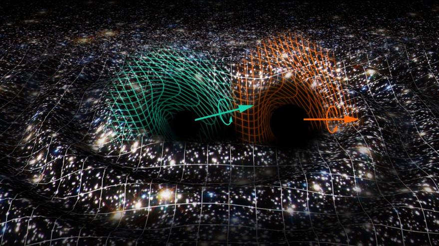 La fusión de dos agujeros negros en otro supermasivo desconcierta a la comunidad astrofísica