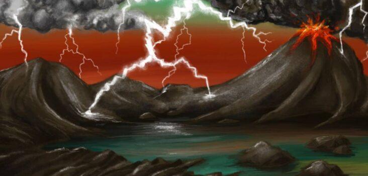 Rayos en Tierra primitiva